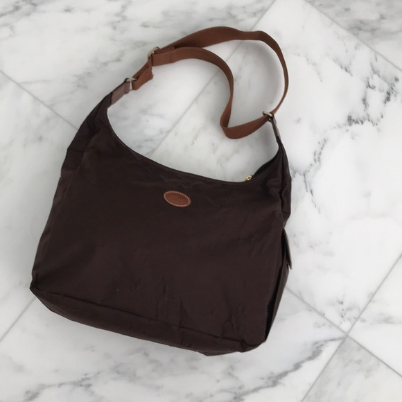 42a29e2f818f Longchamp Handbags - LONGCHAMP Le Pliage Nylon Hobo Sling Bag